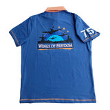 WINGS OF FREEDOM POLO DUTCH BLUE_