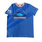 WINGS OF FREEDOM T-SHIRT DUTCH BLUE _