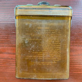 Scarce WWII USAAF Type E-17 'Bale Wire' Survival Kit Flask _
