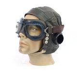RAF C type Leather pilots Flying helmet_