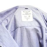 Lichtblauwe WAAF dames blouse_