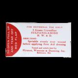 WW2 US Medic Sulfanilamide Packet_