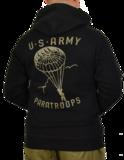 ABNP U.S. Paratrooper Hoodie Black_