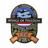 WINGS OF FREEDOM PATCH STRIJK LAAG_