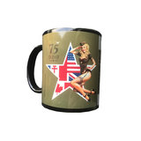 DAKS OVER NORMANDY MUG BLACK_