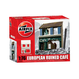 EUROPEAN RUINED CAFE 1:76