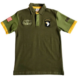 101ST AIRBORNE 506TH POLO SHIRT