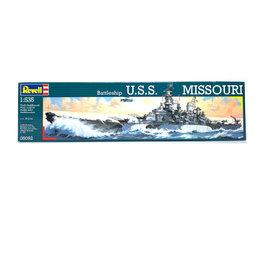 BATTLESHIP USS MISSOURI 1:535