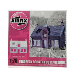 EUROPEAN COUNTRY COTTAGE RUIN 1:76