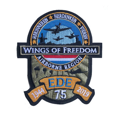 WINGS OF FREEDOM PATCH FABRIC