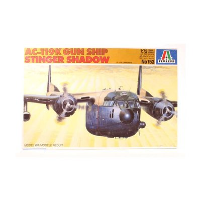 AC-119K GUN SHIP STINGER SHADOW 1:72