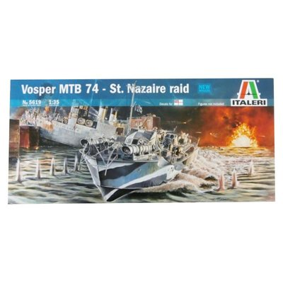 VOSPER MTB 74 ST. NAZAIRE RAID 1:35
