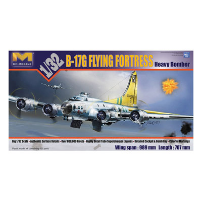 B-17G FLYING FORTRESS HEAVY BOMBER 1:32
