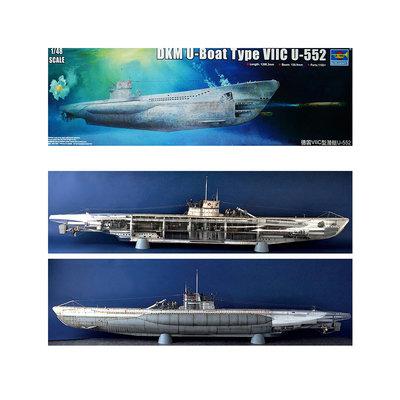 U-BOAT VIIC U-552 1:48