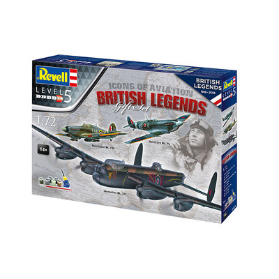 ICONS OF AVIATION BRITISH LEGENDS 05696