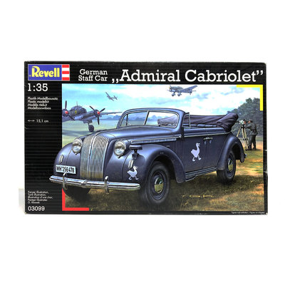 GERMAN STAFF CAR ADMIRAL CABRIOLET  1:35