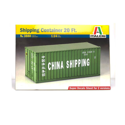SHIPPING CONTAINER 20 FT. 1:24