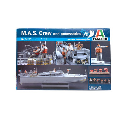 M.A.S. CREW AND ACCESSORIES 1:35