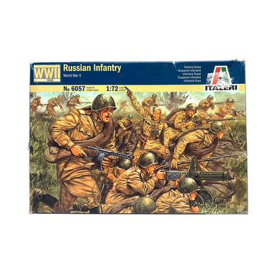 RUSSIAN INFANTRY 1:72