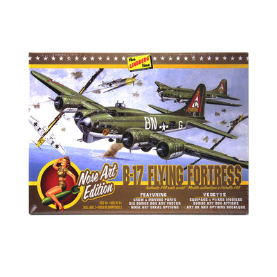B-17 FLYING FORTRESS NOSE ART