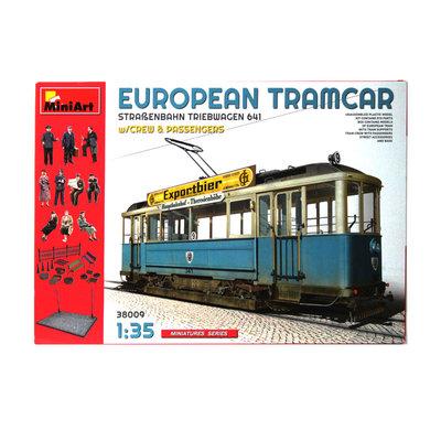 EUROPEAN TRAM CAR 1:35