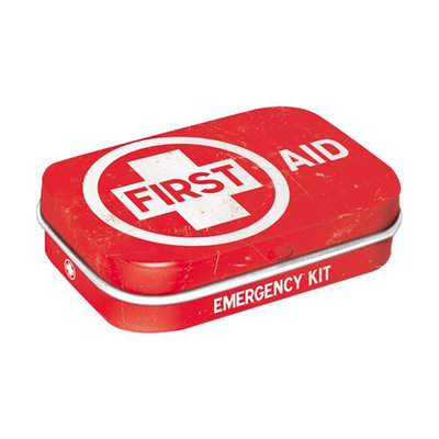MINT BOX FIRST AID RED