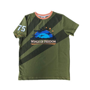 WINGS OF FREEDOM T-SHIRT KHAKI
