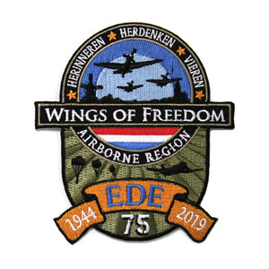 WINGS OF FREEDOM PATCH STRIJK LAAG