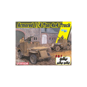 ARMORED 1/4 TON 4x4 TRUCK