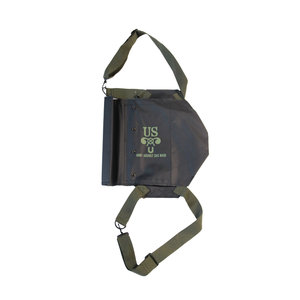 M5 US BLACK ASSAULT GAS MASK BAG