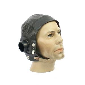 RAF C type Leather pilots Flying helmet