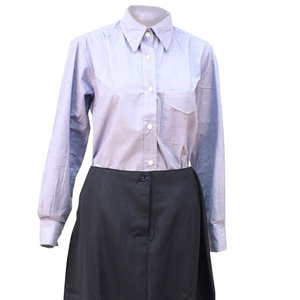 Lichtblauwe WAAF dames blouse