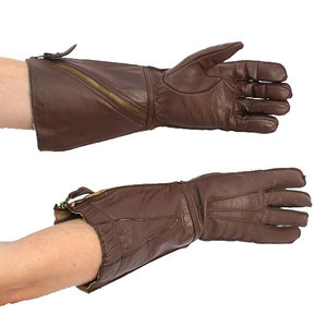 RAF 1941 Flying Gauntlets (piloten handschoenen) met zijrits