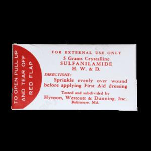 WW2 US Medic Sulfanilamide Packet