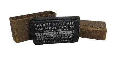 WW2 Original US M42 First Aid Field Dressing