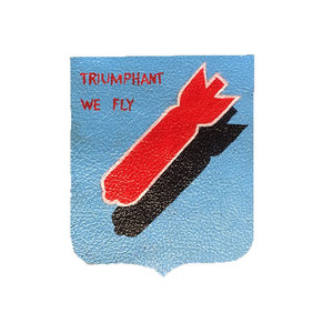 LEATHER PATCH 381ST BOMB GROUP MISSION BELLE