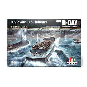 LCVP WITH US INFANTRY 1:35
