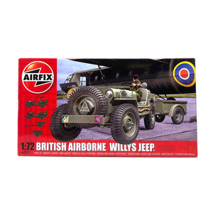 BRITISH AIRBORNE WILLYS JEEP 1:72