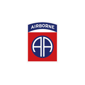 STICKER 82ND AIRBORNE