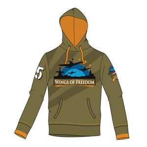 WINGS OF FREEDOM HOODIE KHAKI